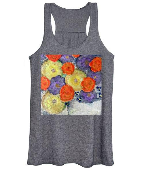 Crochet Bouquet Women's Tank Top