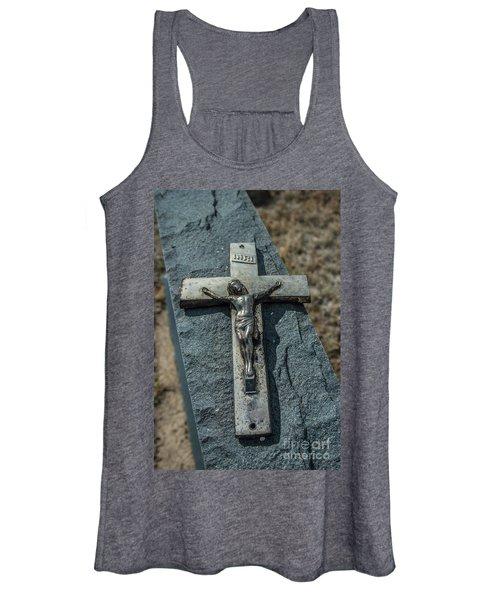 Crucifix Women's Tank Top