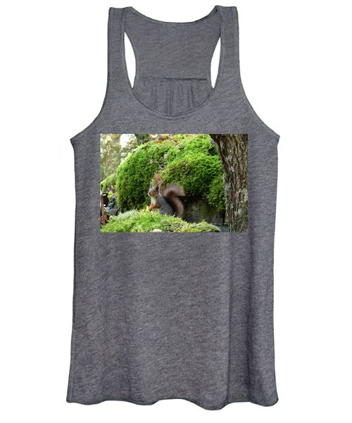 Curious Squirrel Women's Tank Top