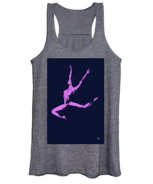 Dancer In The Dark Blue Women's Tank Top