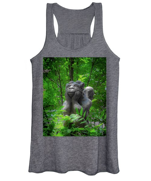 Daydreaming Gargoyle Women's Tank Top