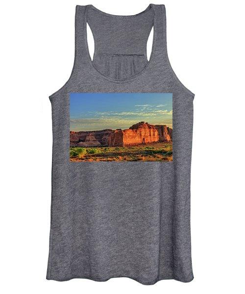 Desert Sunrise In Color Women's Tank Top