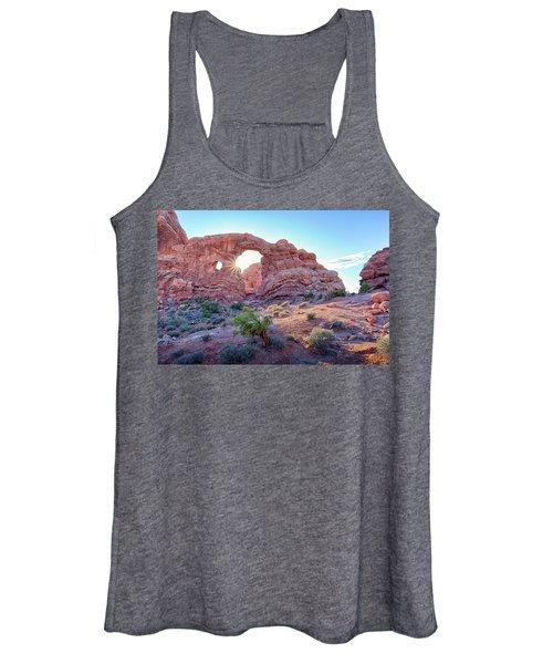 Desert Sunset Arches National Park Women's Tank Top