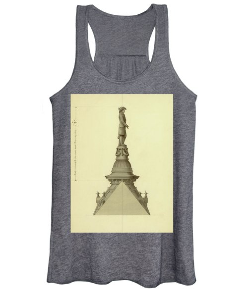 Design For City Hall Tower Women's Tank Top