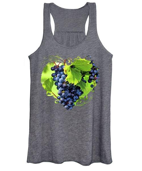 Door County Grape Cluster Women's Tank Top