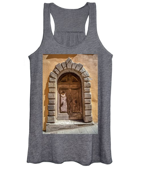 Door Thirty Two Of Tuscany Women's Tank Top