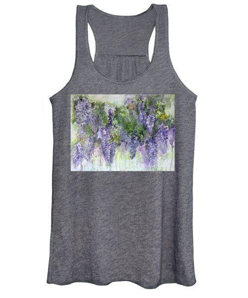 Dreams Of Wisteria Women's Tank Top