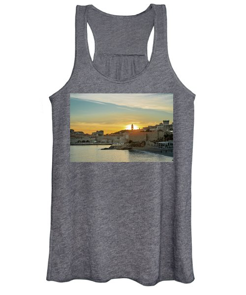 Dubrovnik Old Town At Sunset Women's Tank Top