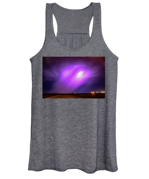 Dying Late Night Supercell 016 Women's Tank Top