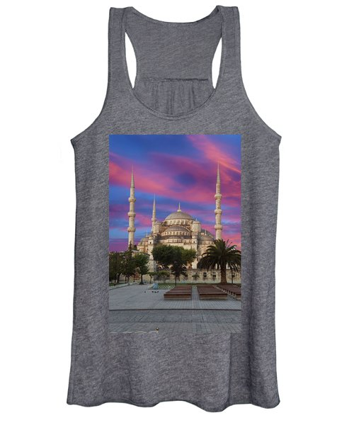 Early Morning Light On  Sultan Ahmet Camii Women's Tank Top