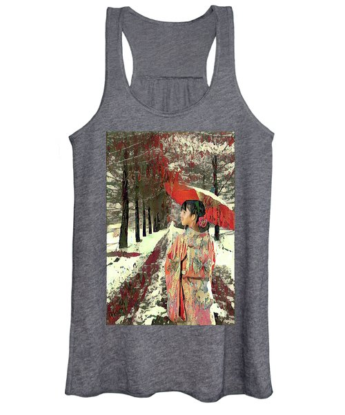Early Snow Women's Tank Top