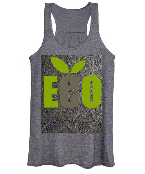 Eco Green Women's Tank Top