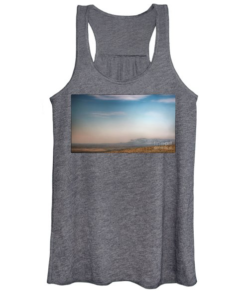 Guadalupe Mountains From A Distance Women's Tank Top