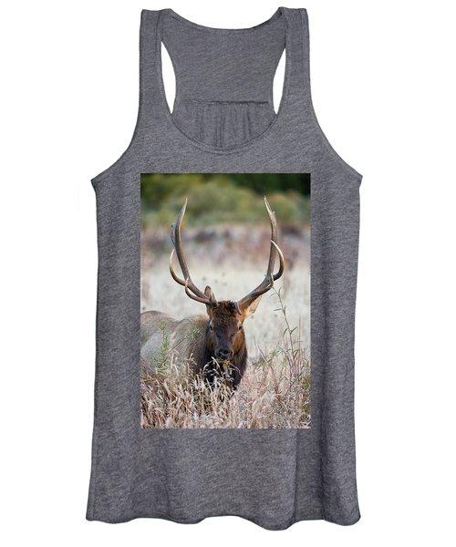 Elk Portrait Women's Tank Top