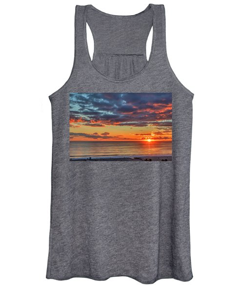 End Of Day Light Show Women's Tank Top