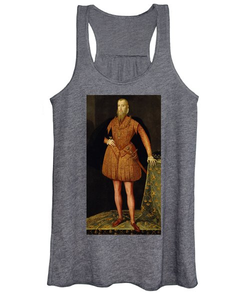 Erik Xiv, 1533-1577, King Of Sweden Women's Tank Top