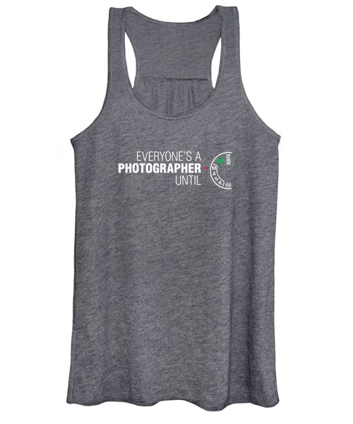 Everyone's A Photographer Until Manual Mode T Shirt For Men Women's Tank Top