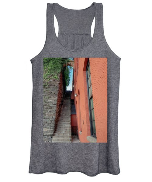 Exorcist Stairs Beauty Women's Tank Top