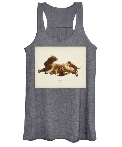 Fails Leo Illustrated By Charles Dessalines D  Orbigny  1806 1876  Women's Tank Top