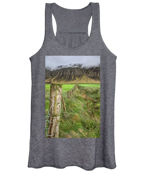 Fence Of Iceland Women's Tank Top