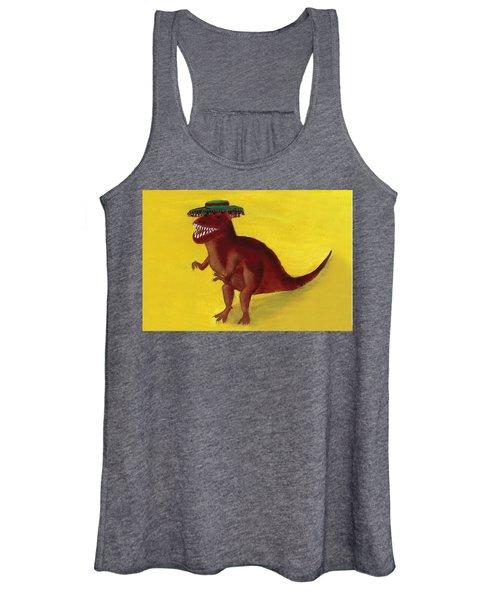 Fies-t-rex Women's Tank Top