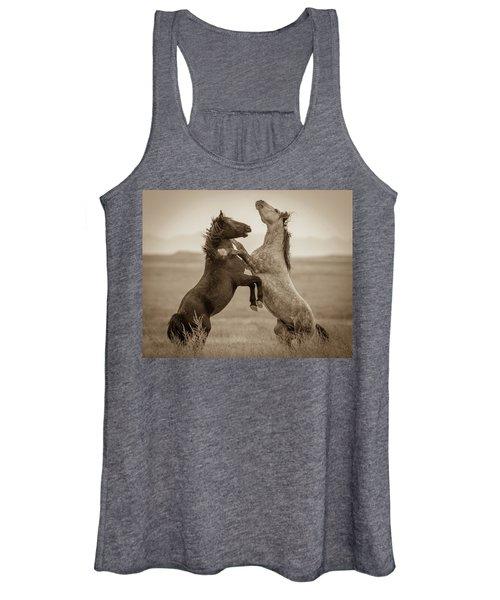 Fighting Stallions Women's Tank Top