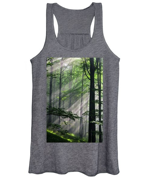 Fleeting Beams Women's Tank Top