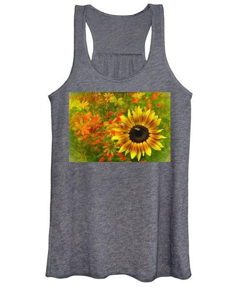 Flower Explosion Women's Tank Top