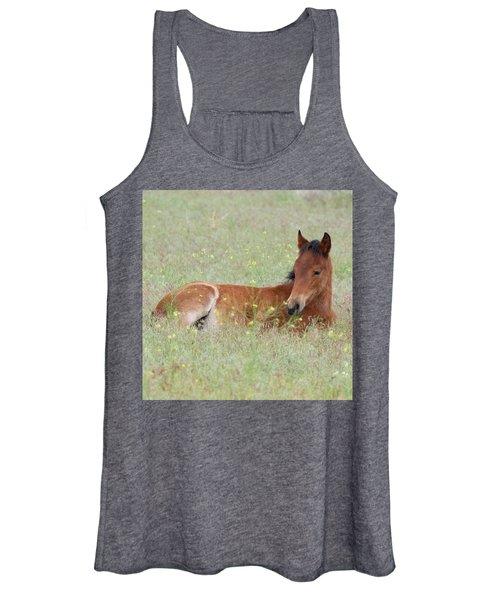 Foal In The Flowers Women's Tank Top
