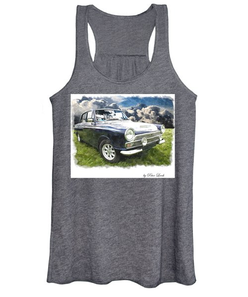 Ford Cortina 1 Women's Tank Top