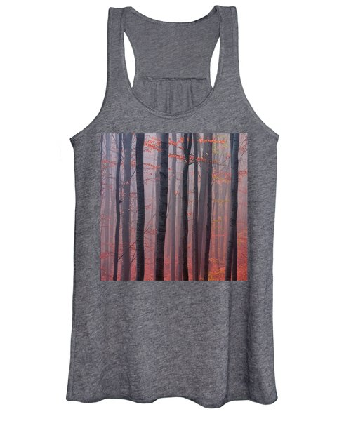Forest Barcode Women's Tank Top