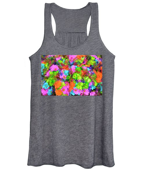 French Floral  Women's Tank Top