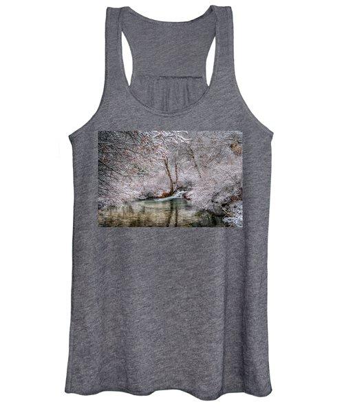 Frosty Pond Women's Tank Top