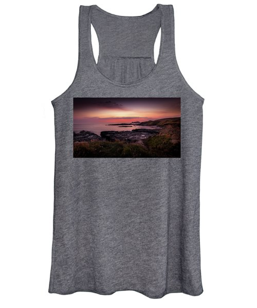 Godrevy Sunset - Cornwall Women's Tank Top