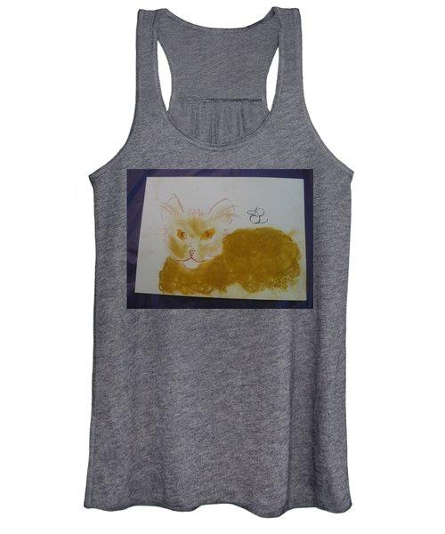 Golden Cat Women's Tank Top
