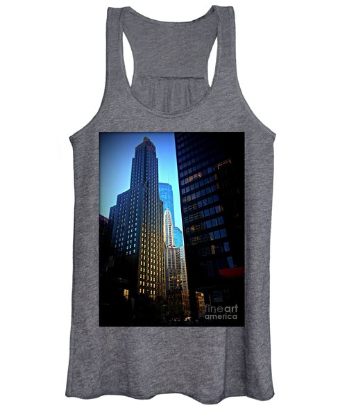 Golden Hour Reflections - City Of Chicago Women's Tank Top