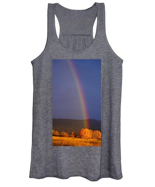 Golden Tree Rainbow Women's Tank Top
