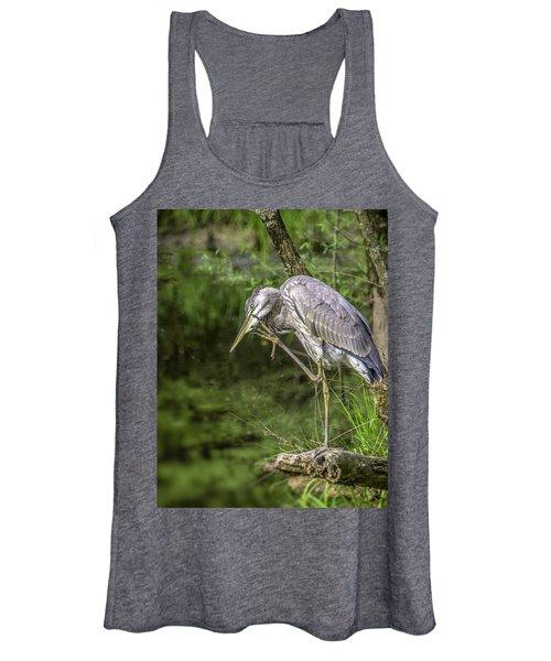 Great Blue Heron Itch Women's Tank Top