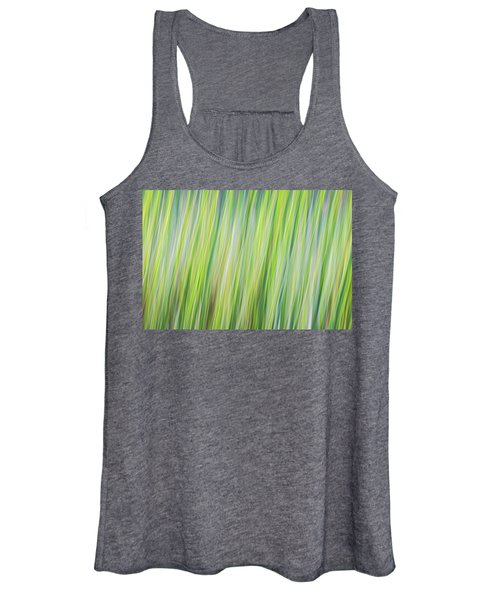 Green Grasses Women's Tank Top