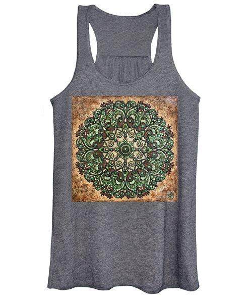 Green Mandala Women's Tank Top