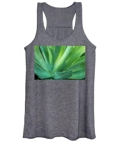 Green Minimalism Women's Tank Top