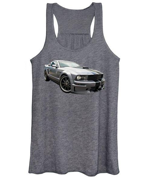 Grey Power - Cervini Mustang Women's Tank Top