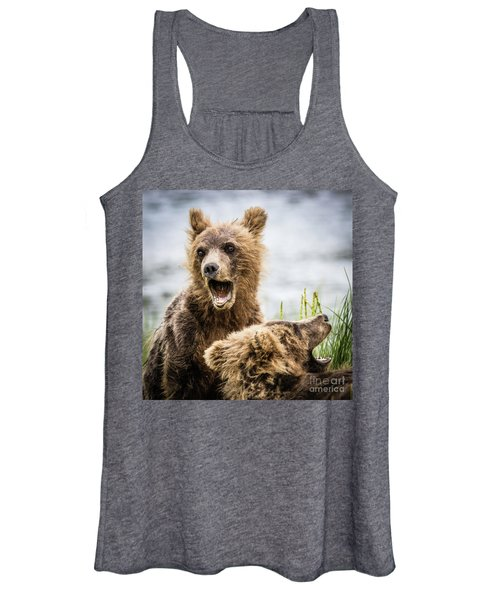 Grizzly Cubs Looking For Their Mum Women's Tank Top