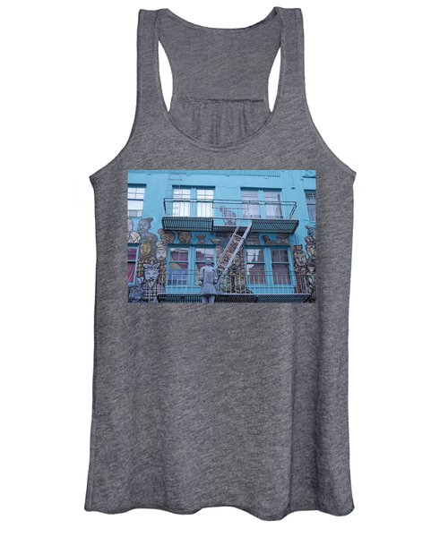 Guarding The Stairs Women's Tank Top