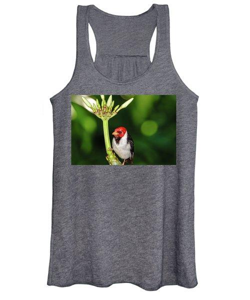 Happy Valentine's Day Bird Women's Tank Top