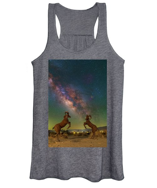 Head To Head With The Galaxy Women's Tank Top