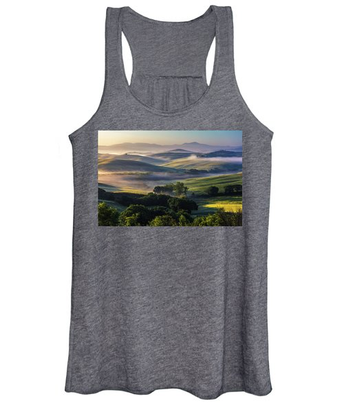 Hilly Tuscany Valley Women's Tank Top