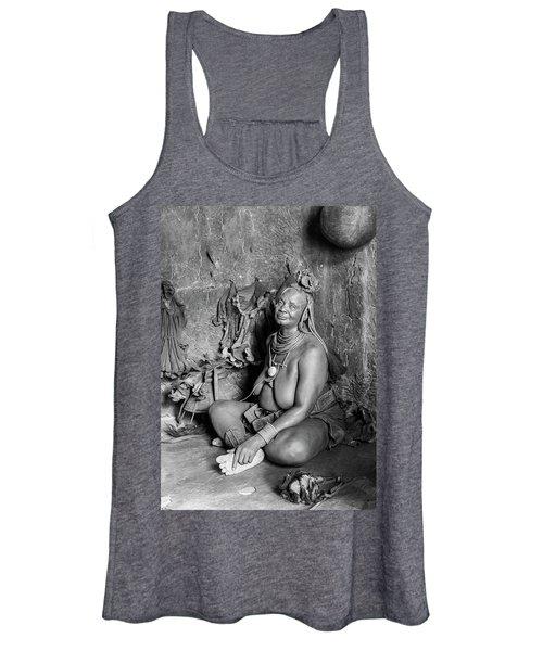 Himba Grand Mother Women's Tank Top