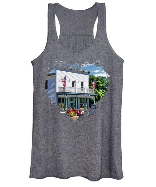Historic Pioneer Store In Ellison Bay Door County Women's Tank Top
