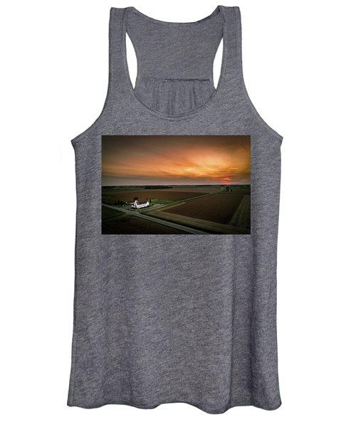 Holy Sunset Women's Tank Top